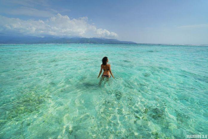 Playas turquesas, que hacer en las islas Gili