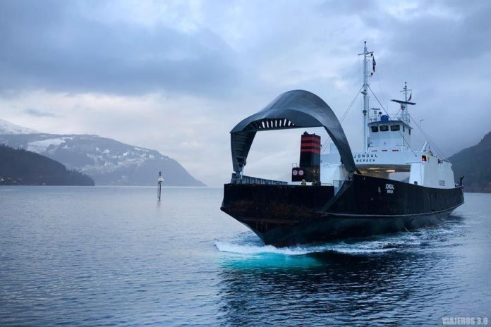 Ferrys, ruta por el fiordo de Hardanger