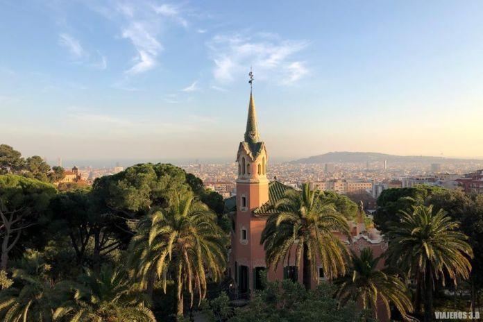Parque Güell, miradores de Barcelona