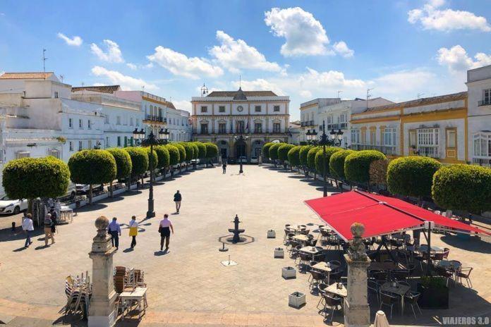 Plaza España de Medina Sidonia, en la provincia de Cádiz