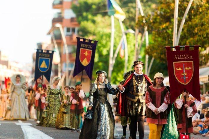Fiesta del Renacimiento en Tortosa.