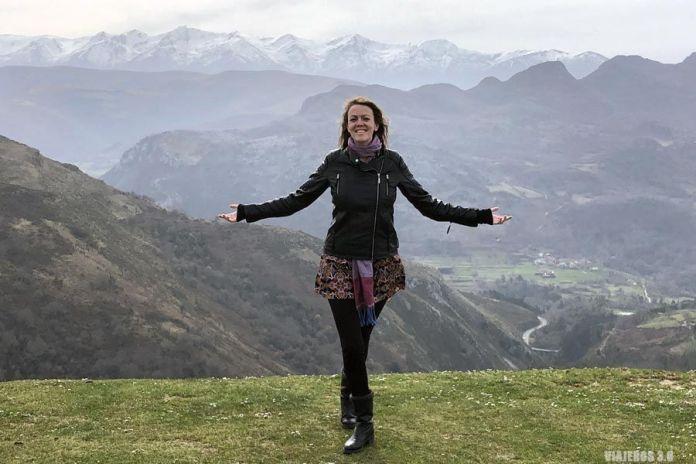 Vistas de la Sierra de Arnero en Cantabria
