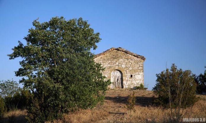 Ermita de San Marcos en Finestres, Huesca.