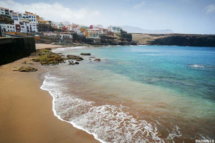 Playa de La Sardina en Gran Canaria