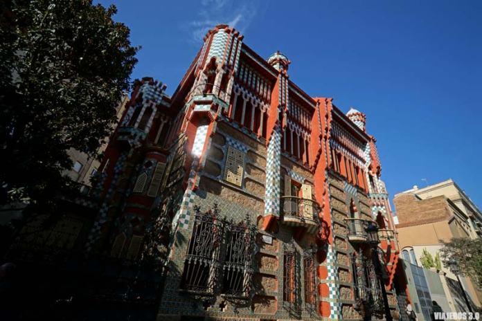 Csa Vicens de Gaudí en Barcelona