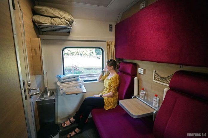 Primera clase en los trenes de Tailandia