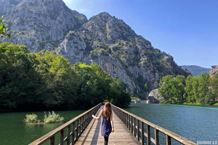 Embalse de Valdemurio en Asturias