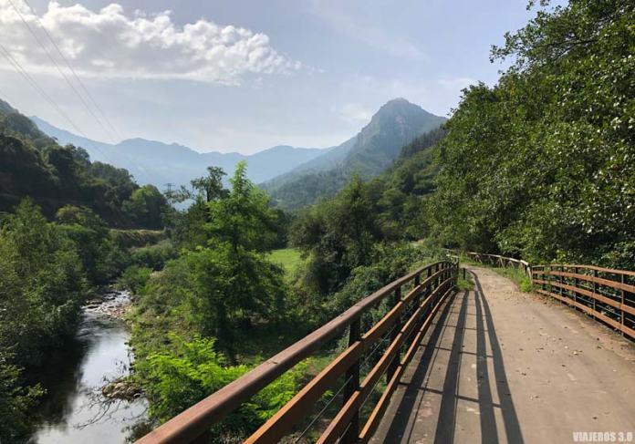Paisajes asturianos en la Senda del Oso.