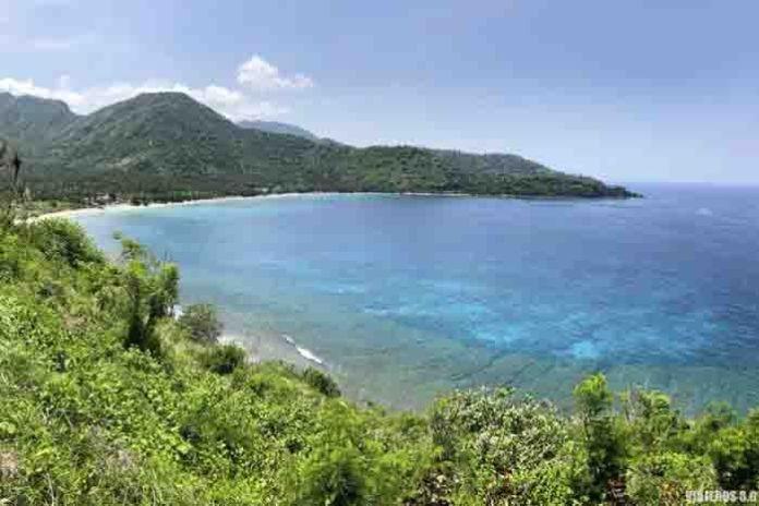 Costa y playas de Lombok.