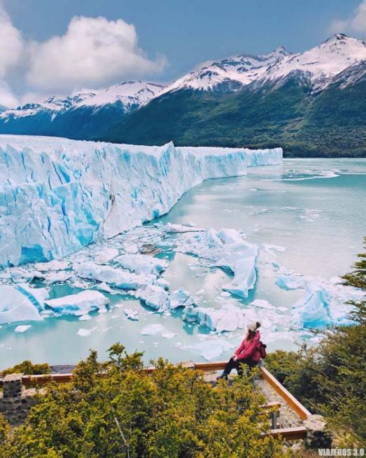 El Perito Moreno en El Calafate
