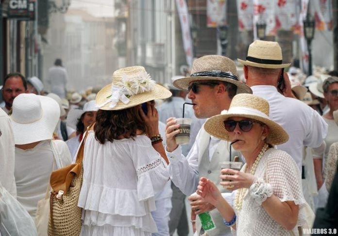 Fiesta de Los Indianos en Santa Cruz de La Palma