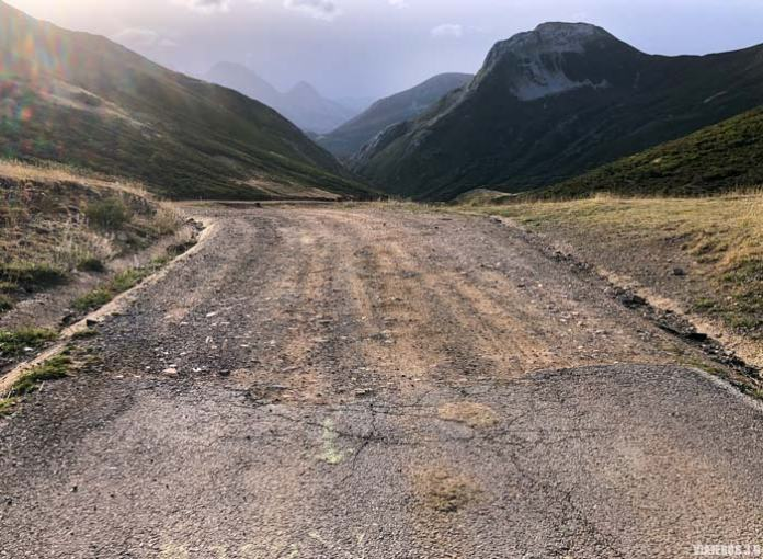 Carretera lagos de Saliencia