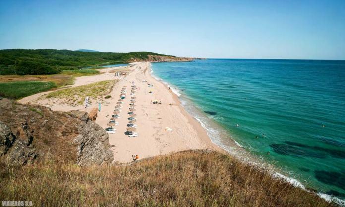 Veleka Beach, playas de Bulgaria en el Mar Negro