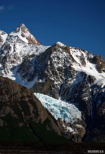 Glaciar Piedras Blancas.