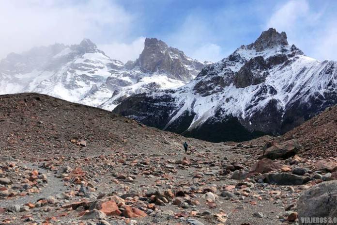 Ascenso a la Laguna Torre., qué ver en El Chaltén