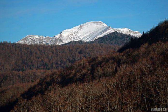 Monte Ori en el Valle de Salazar.