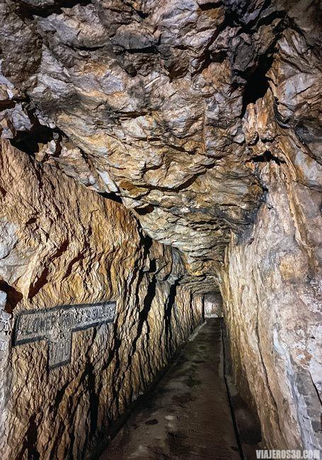 Interior del Peñón de Gibraltar.