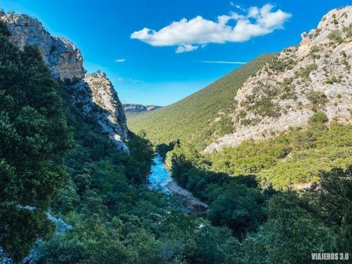 Desfiladeros de los Tornos en Burgos