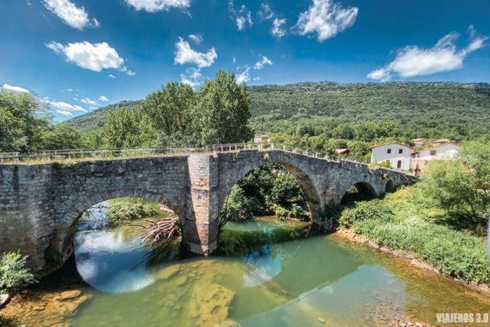 Puente de Villanueva-Rampalay en el Valle de Zamanzas