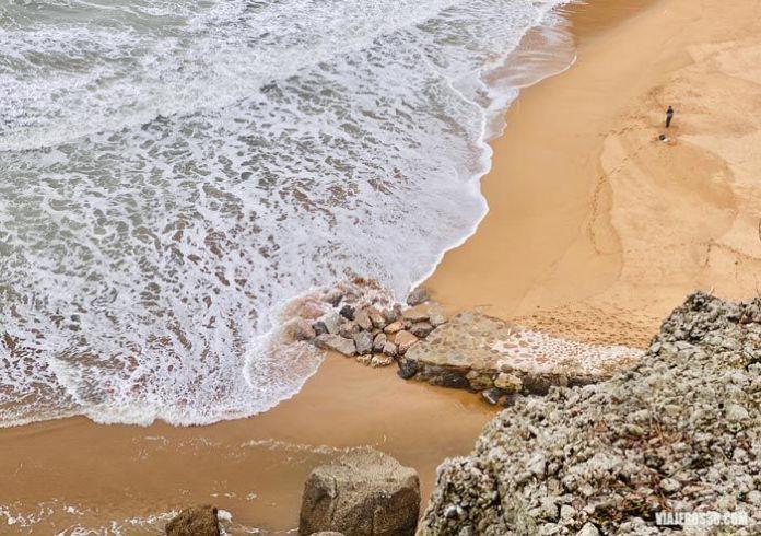Playa de la Ñora, Senda del Cervigón