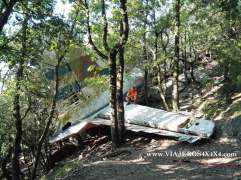 146-Dia-5-GR11-Catalunya-Accidente-avion Pirineos España