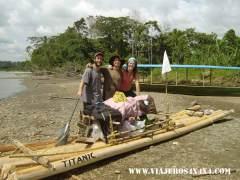 004 titanic-la-balsa-de-la-vuelta-al-mundo-en-10-anos-en-el-amazonas Perú