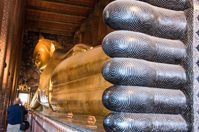 buda reclinado templo wat pho