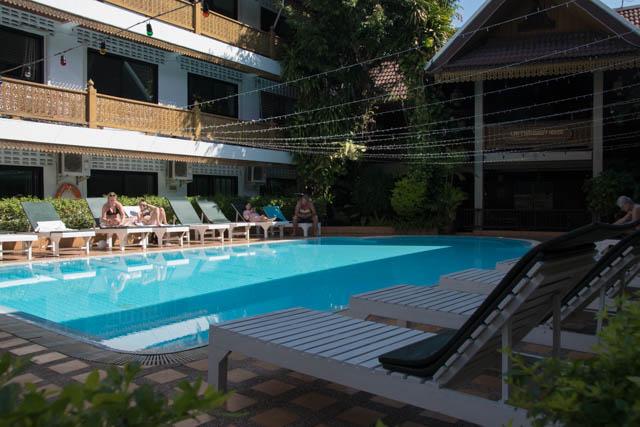 Lai-Thai guesthouse piscina