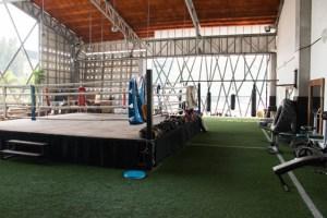 CHIANGMAI MUAY THAI GYM gimnasio y ring