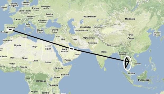 Introducción del viaje a Tailandia.