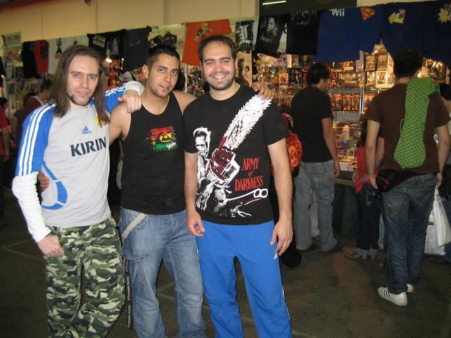 Expomanga 2009. Salón del Manga y la Cultura Japonesa de Madrid.