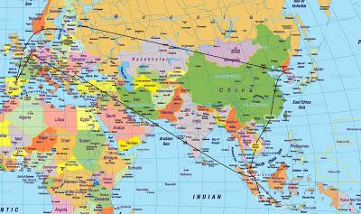 viaje a Reino Unido (Inglaterra), Estonia, Finlandia, Corea del Sur, Camboya, Malasia, Indonesia, Holanda. Preparativos de la emigración a Singapur. ViajerosAlBlog.com