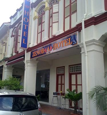 Dónde dormir y alojamiento en Singapur (Singapur) - Zenobia Hotel. ViajerosAlBlog.com