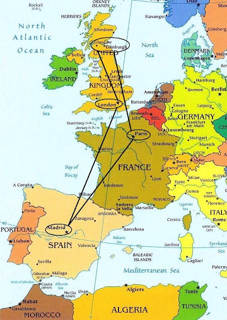 Introducción de la escapada a Reino Unido (Escocia).