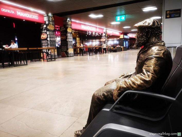 Estatuas urbanas de Madrid. Compañeros solitarios pero eternos de nuestras calles.