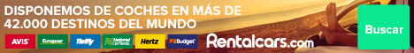 Rentalcars. ViajerosAlBlog.com