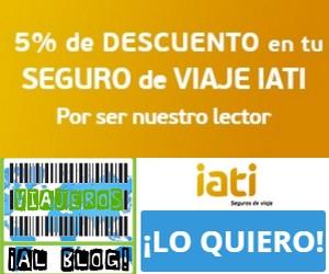 5% de descuento en tu seguro de viajes por ser lector de ViajerosAlBlog.com