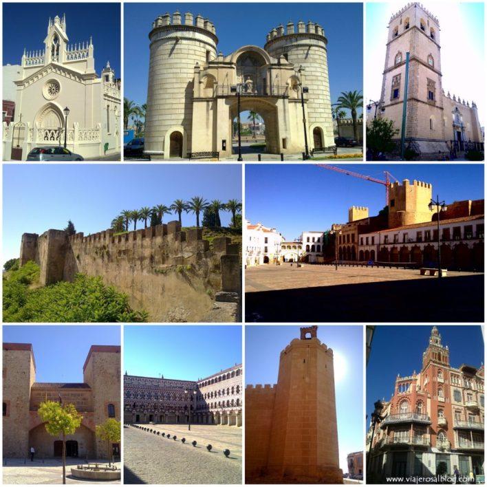Badajoz_Collage_ViajerosAlBlog