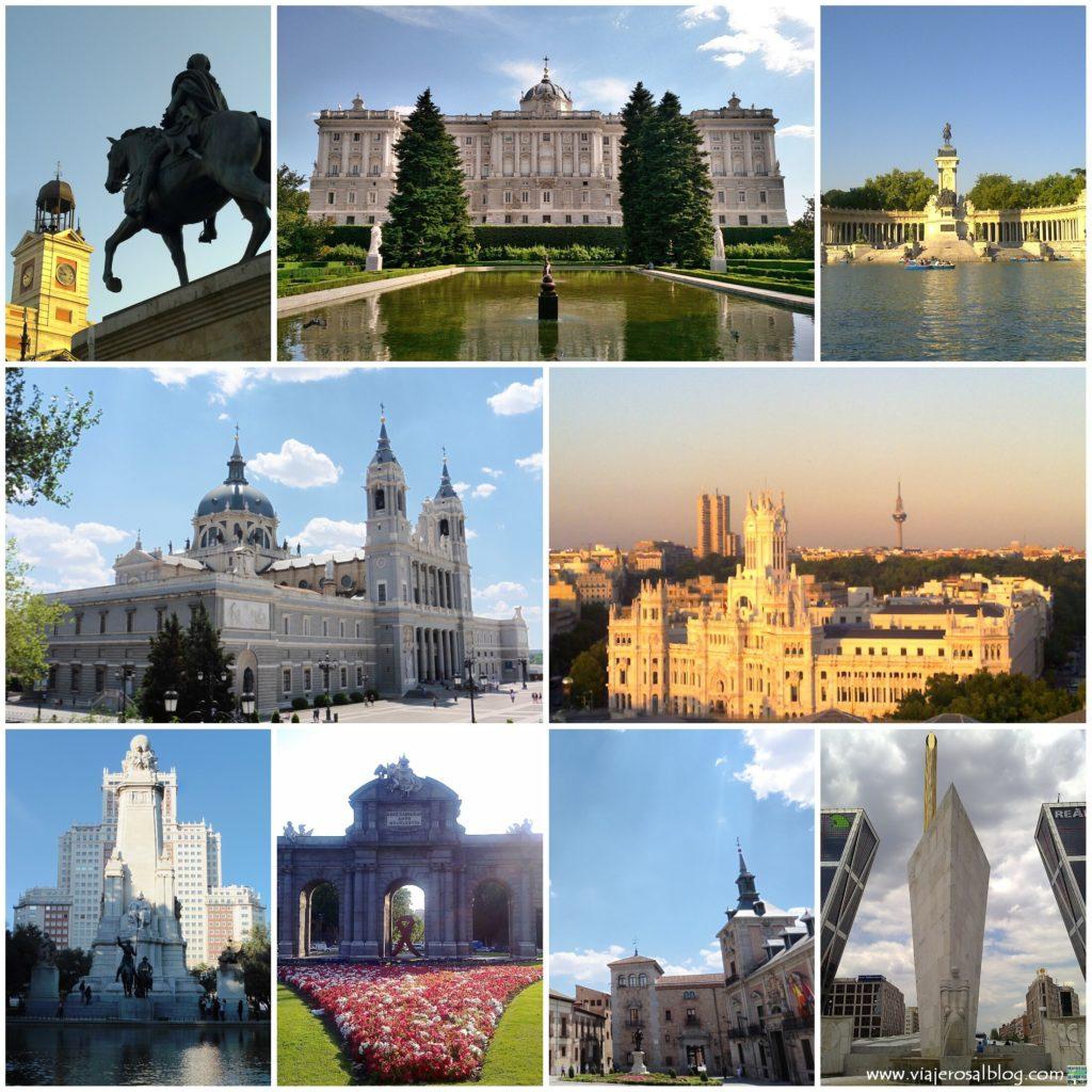 Madrid_Collage_ViajerosAlBlog