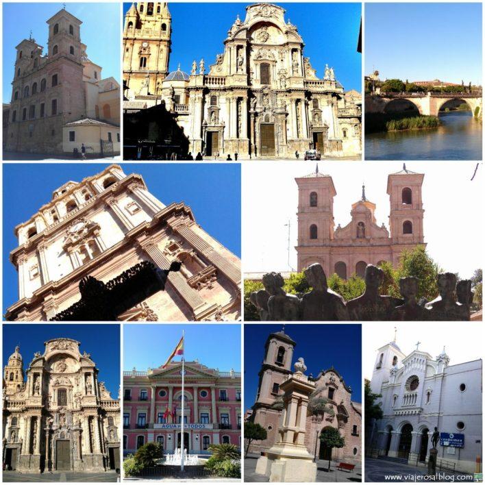 Murcia_Collage_ViajerosAlBlog