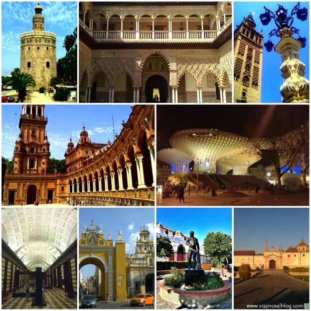 Sevilla_Collage_ViajerosAlBlog