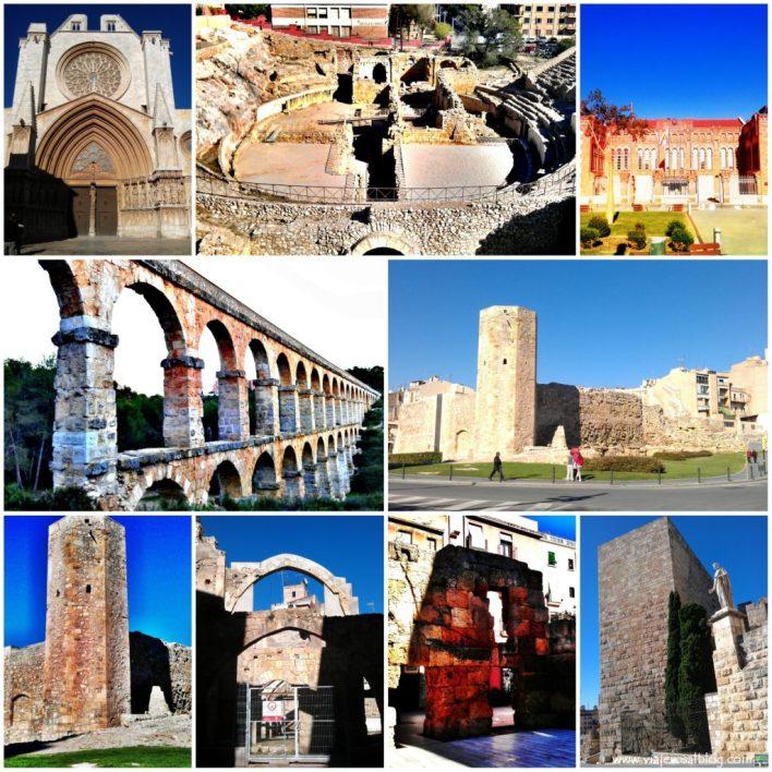 Tarragona_Collage_ViajerosAlBlog