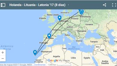 Introducción del viaje a Holanda, Lituania y Letonia: información, planning y presupuesto.