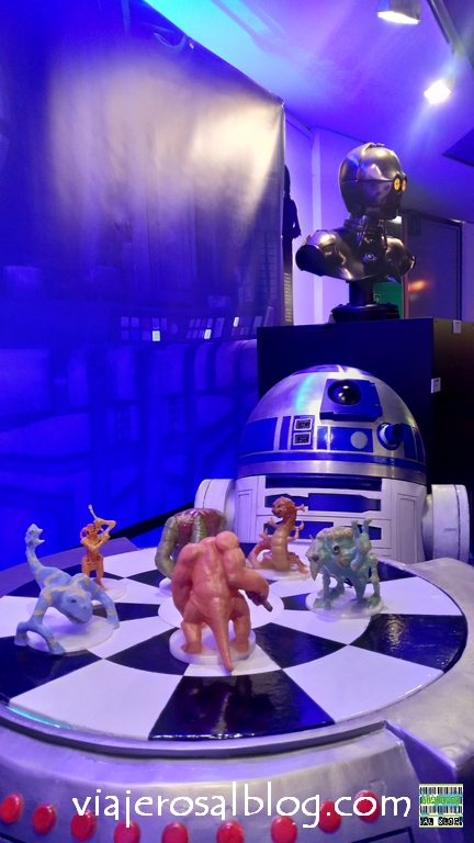 Exposiciones Star Wars en Madrid: Light the Force y Expo Wars.