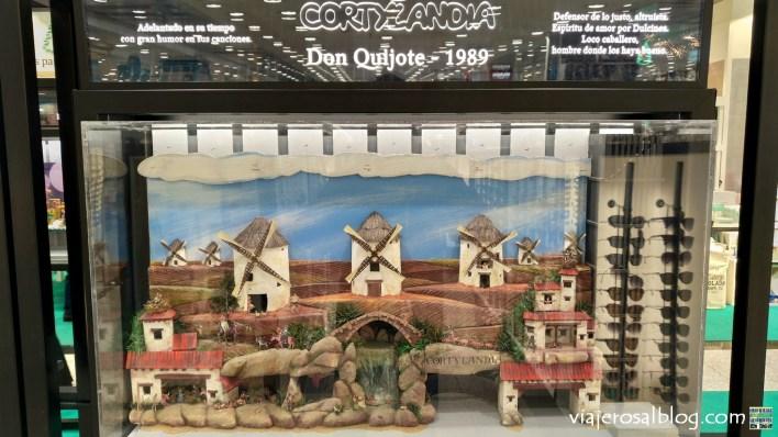 Exposición de maquetas. La historia de Cortylandia. Centro Comercial San José de Valderas Alcorcón (El Corte Inglés - Hipercor).