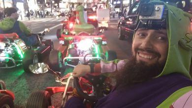 Photo of Recorre Tokio, en un kart y disfrazado como en un videojuego, con MariCAR.