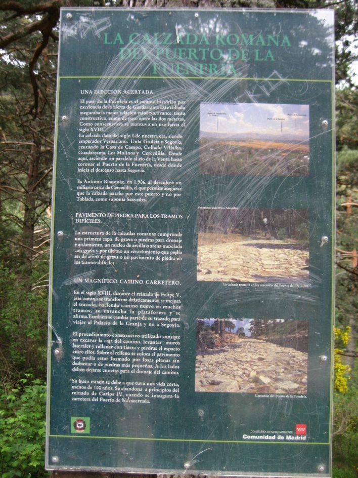 Camino Schmidt y Calzada Romana (Navacerrada y Cercedilla, Madrid). Espectacular ruta senderista - Vol.4.