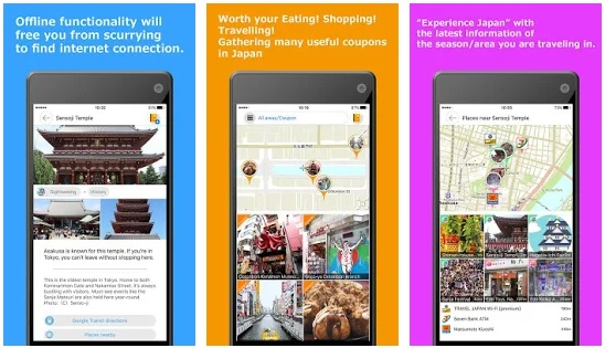 Apps imprescindibles y gratis para viajar a Japón.