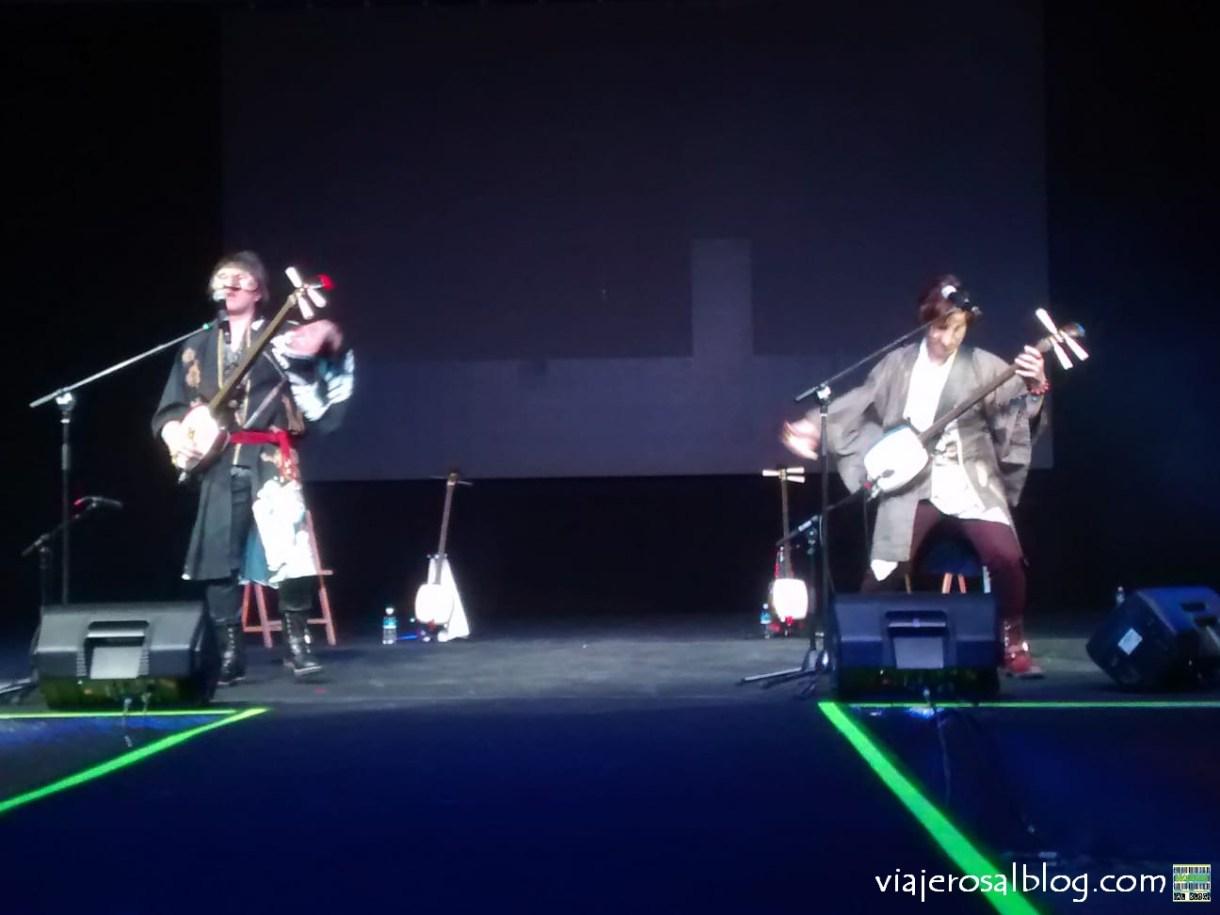 XX Japan Weekend Madrid y Retro Weekend Madrid. KUNI-KEN y Akkogorilla en concierto. IFEMA Madrid.