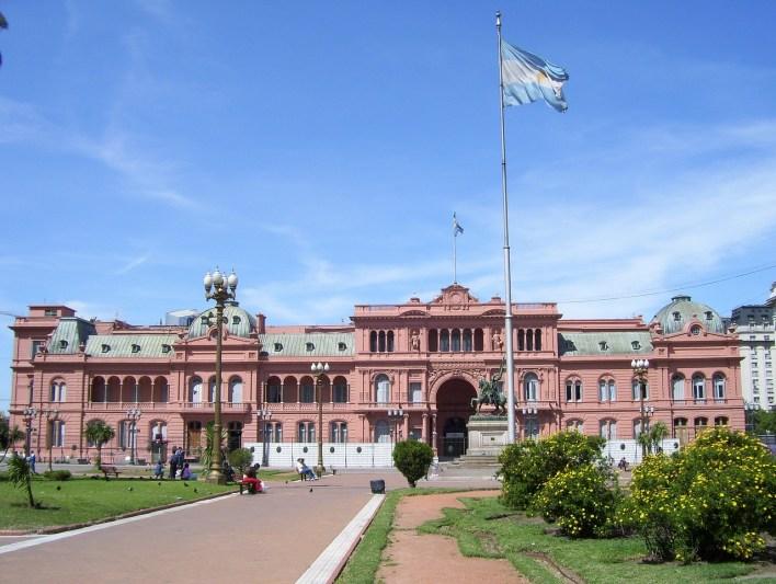 Un día en la ciudad de Buenos Aires.